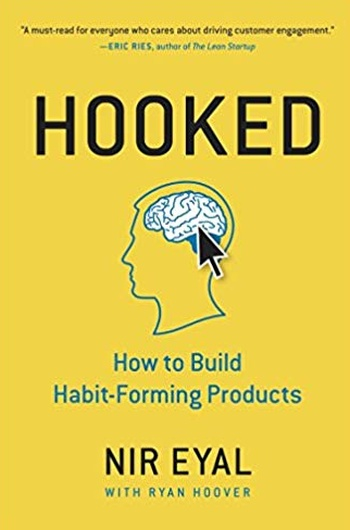 capa do livro hooked