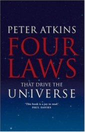 capa do livro quatro leis que guiam o universo Peter Atkins