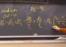 explicando entropia no quadro