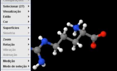 interação com molécula