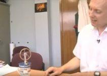 demonstração de uma máquina de stirling