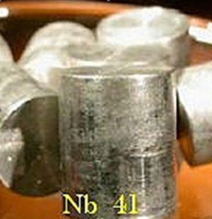 niobio metalico amostra