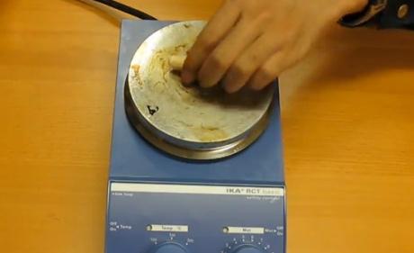agitador usado em laboratórios