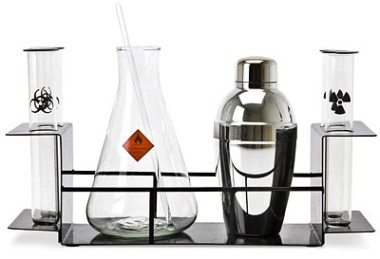 coqueteleira quimicos