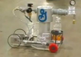 Carros movidos a química