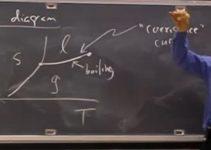 Equilíbrio de fases – Aula no MIT