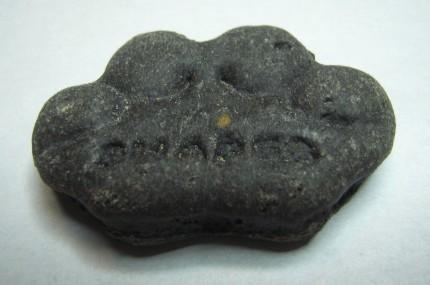 Biscoitos com carvão