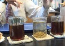 A química do chá