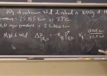 Osmose e termodinâmica estatística – Aula no MIT