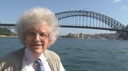 Professor na Ponte de Sydney