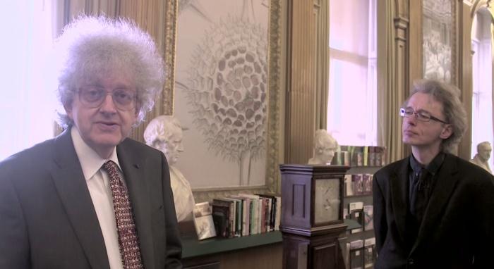 professor e bibliotecário da royal society