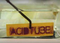 título do canal em ácido