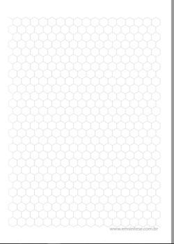 Folha Para Desenhar Moleculas Organicas Em Sintese