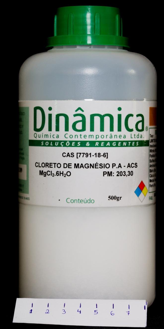 cloreto de magnésio puro