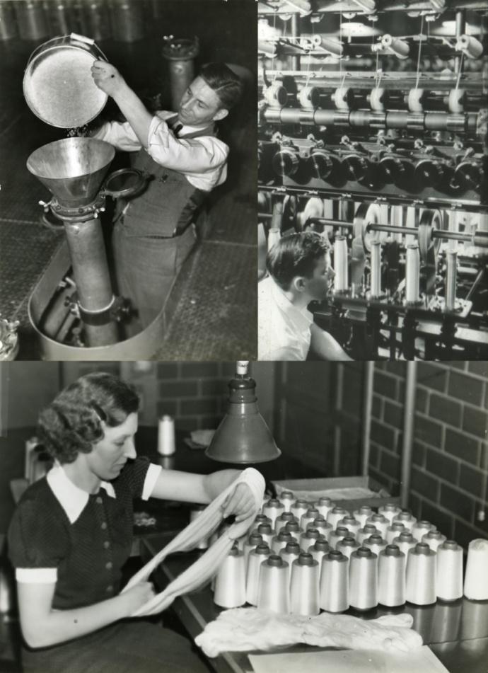 história do nylon na dupont