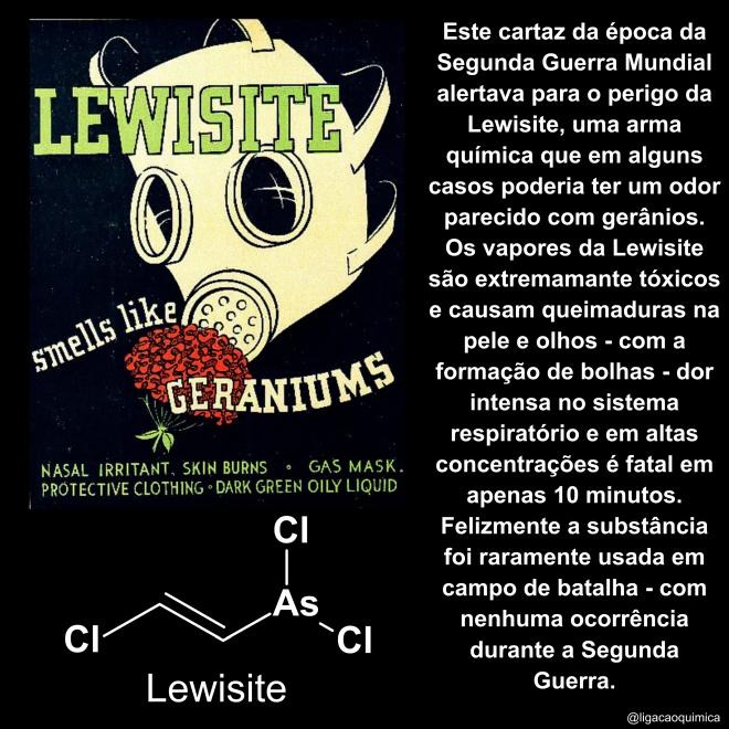 molécula lewisite