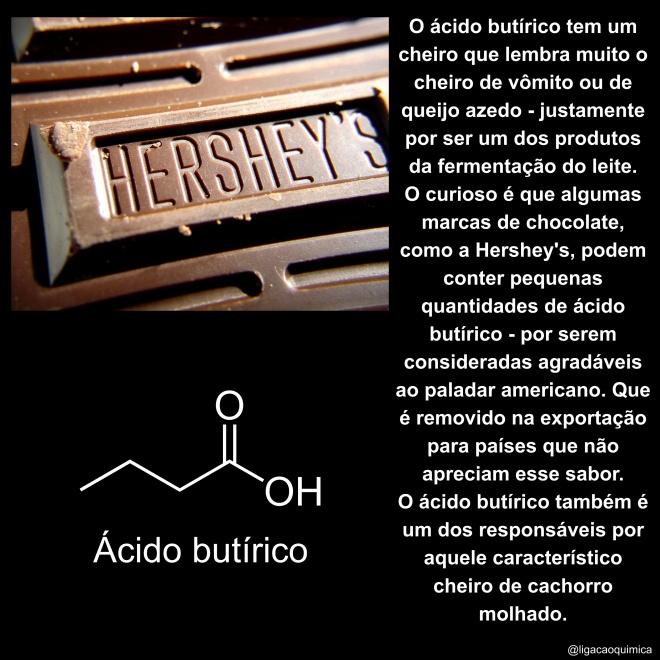 estrutura e informações sobre o ácido butírico