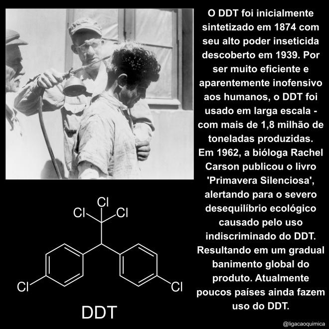 informações e estrutura do DDT