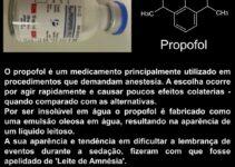 Alicina, benzaldeído e propofol