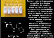 Atropina, veratridina e ácido fórmico